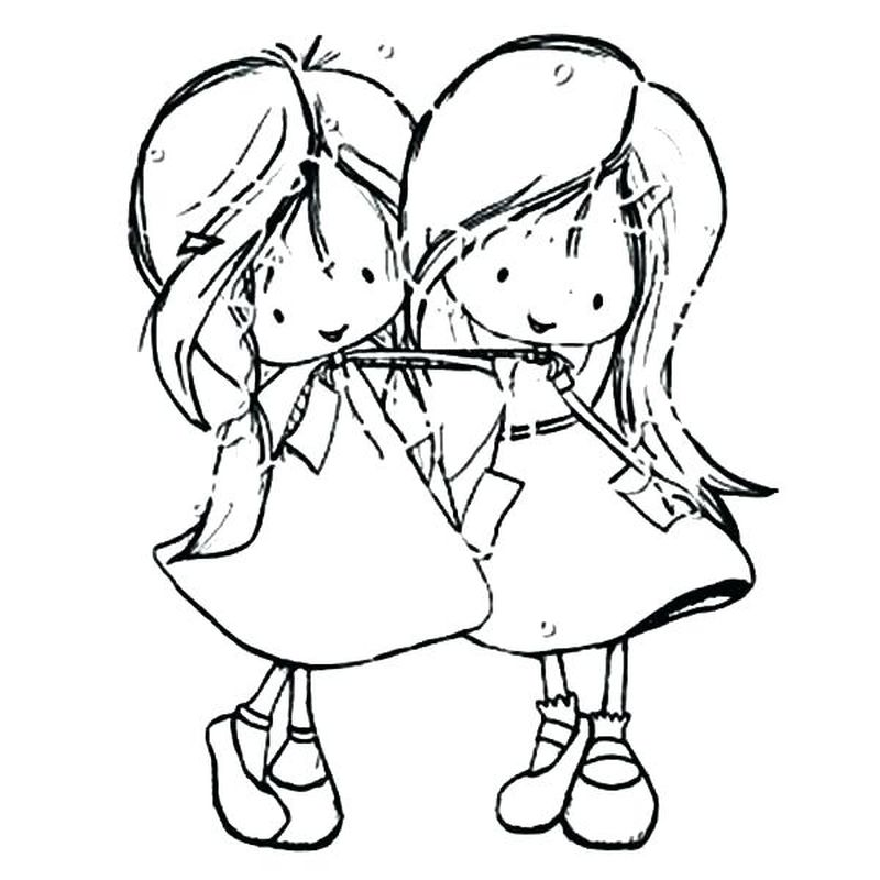 Best Friend Care Bear Coloring Pages free