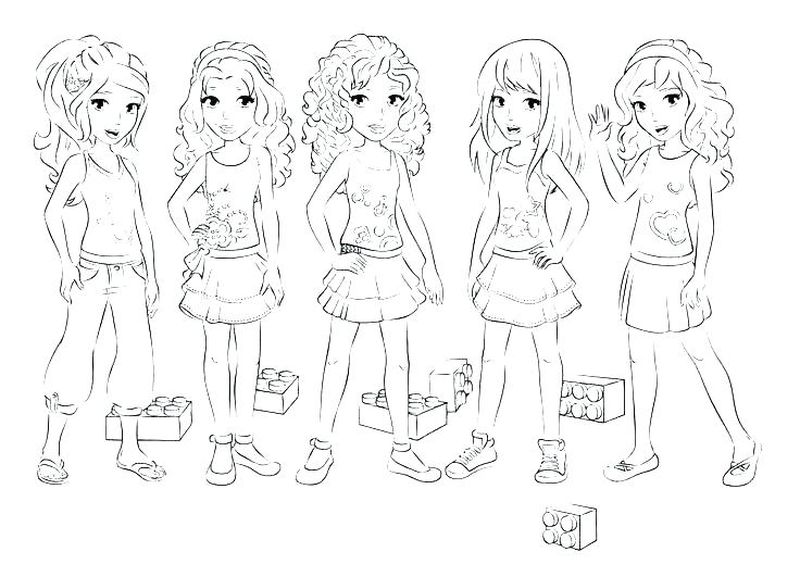 Best Friend Coloring Pages Realistic