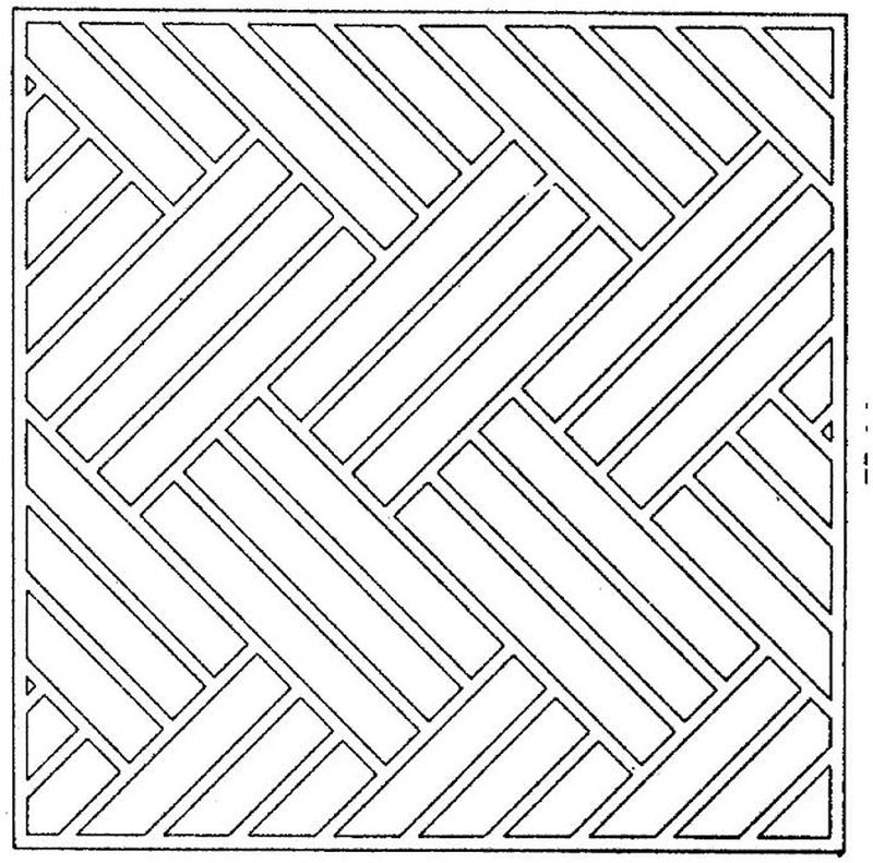 Blank Geometric Coloring Pages free