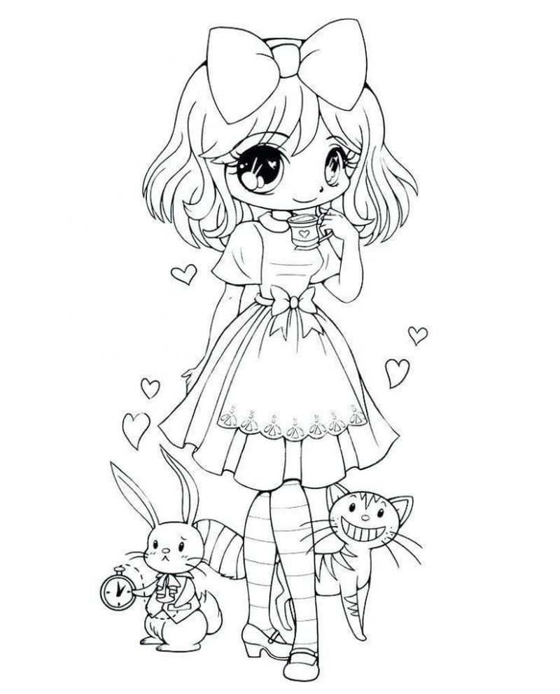 Bts Chibi Coloring Pages free