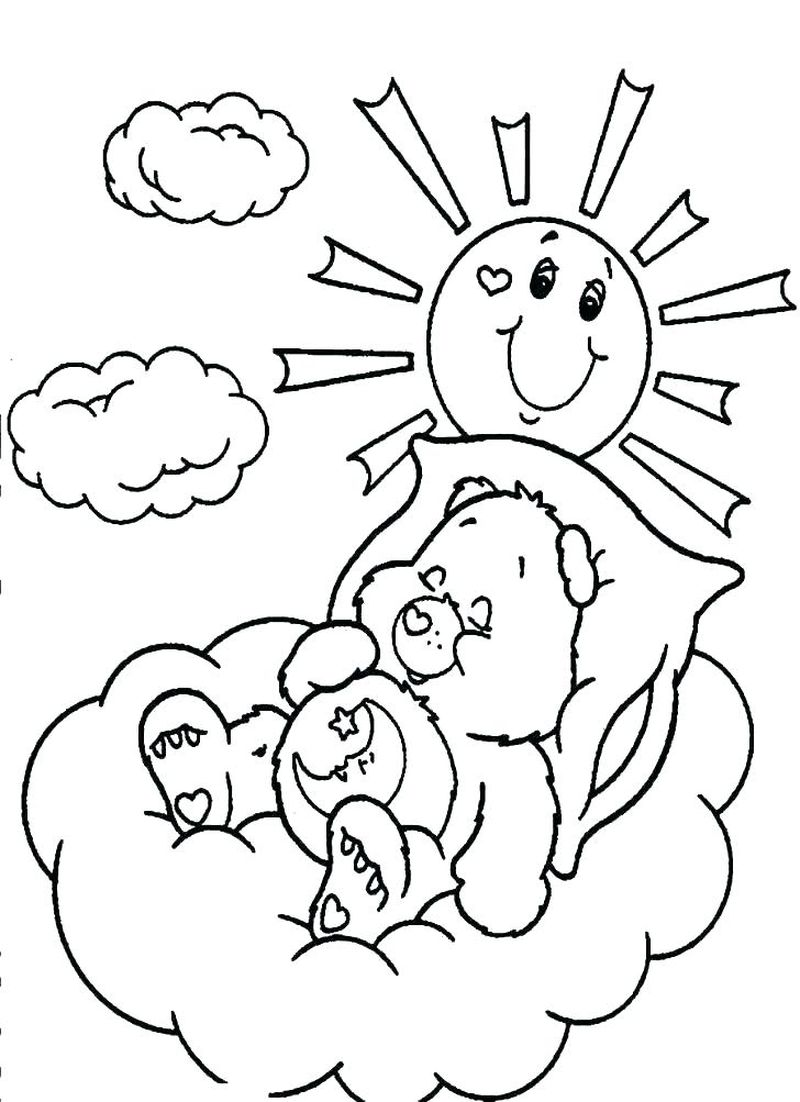 Care Bear Coloring Pages For Adults