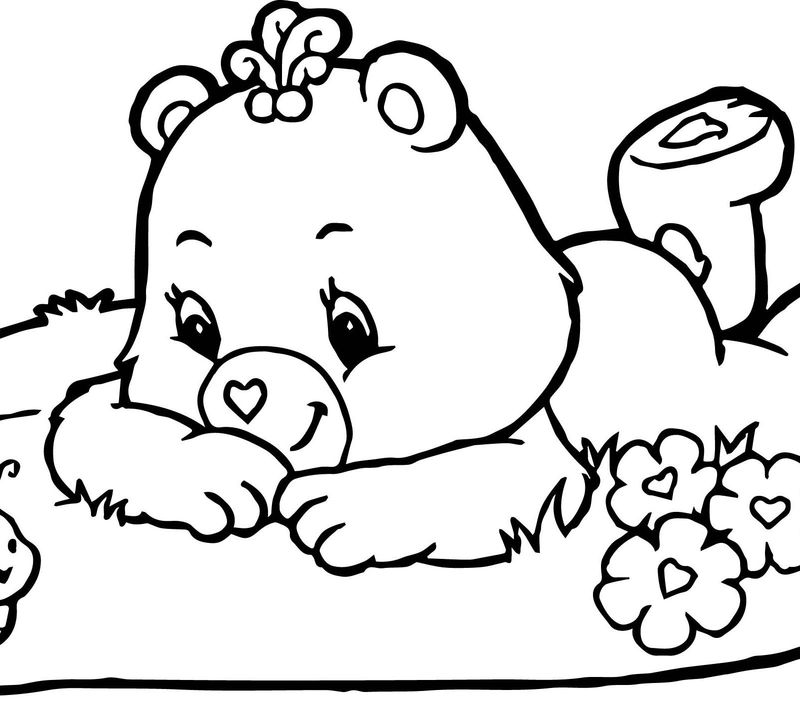 Care Bear Coloring Pages Kids