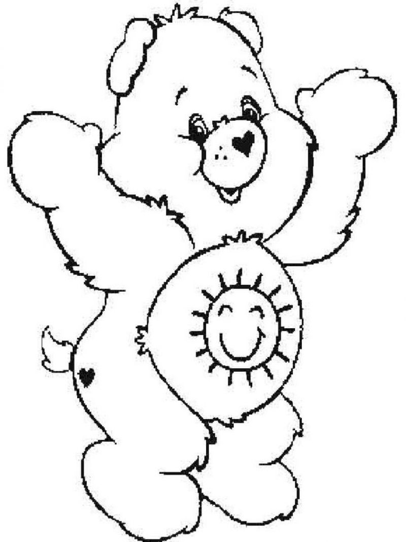 Care Bear Coloring Pages 069