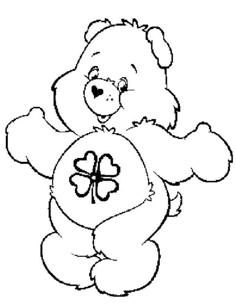 Care Bear Coloring Pages 070