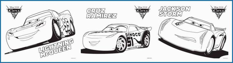 Cars 3 Chrecteras Coloring Pages free