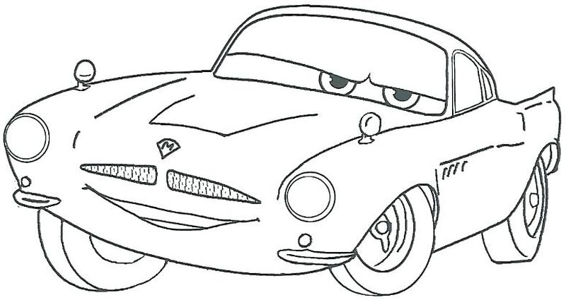 Cars 3 Coloring Pages Racing free