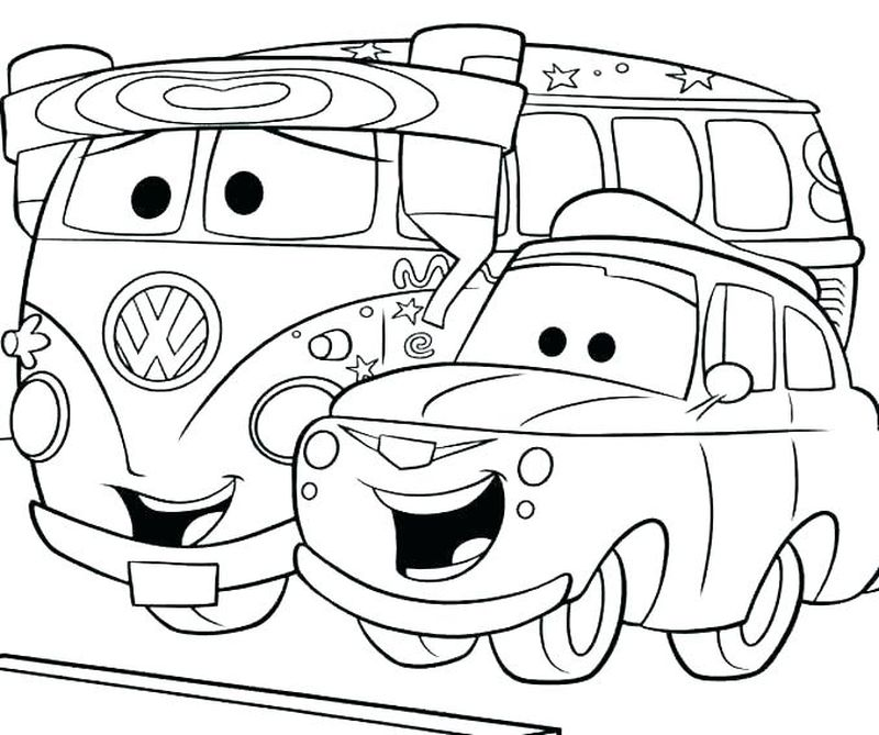 Cars 3 Disney Coloring Pages free