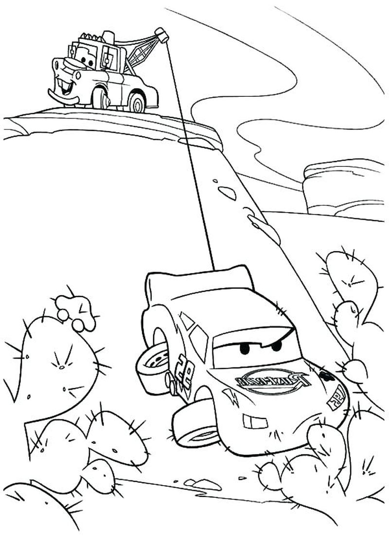 Cars 3 Lego Coloring Pages free