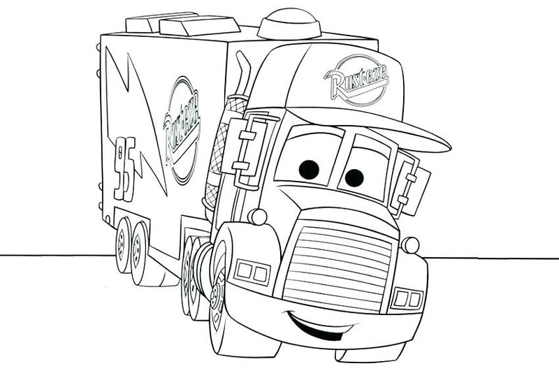 Cars 3 Lightning Coloring Pages free
