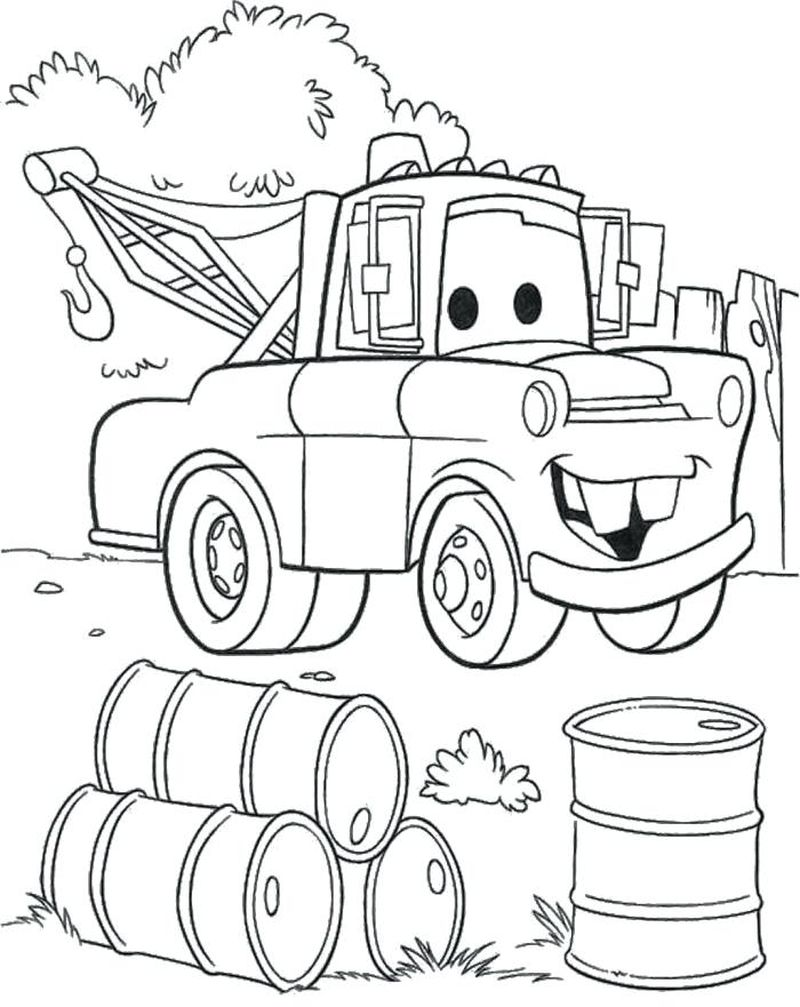 Cars 3 Movie Coloring Pages free