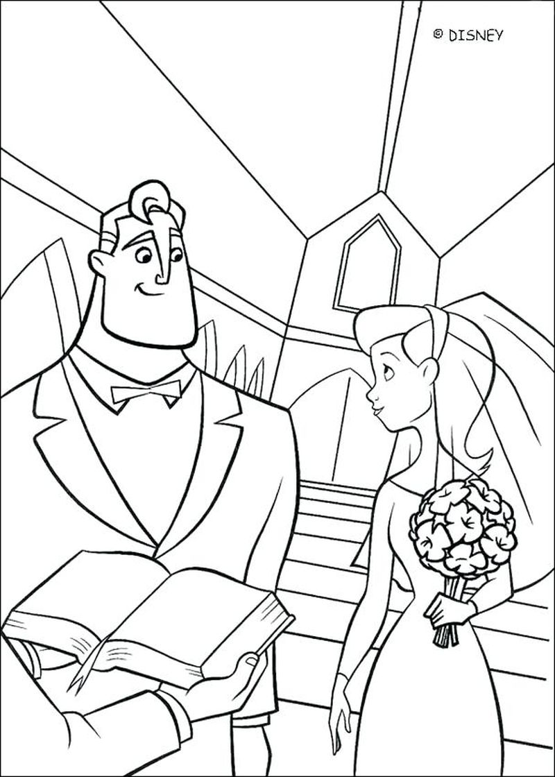 Cartoon Baby Jack Jack From Incredibles Coloring Pages