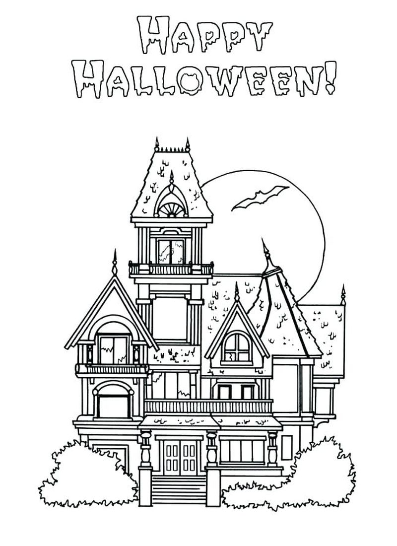 Castle Coloring Pages For 5 Graders