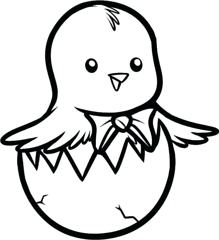 Chuck Chicken Coloring Pages