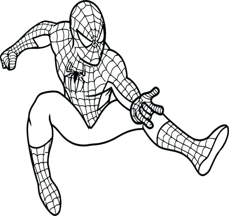 Coloring Pages And Spiderman