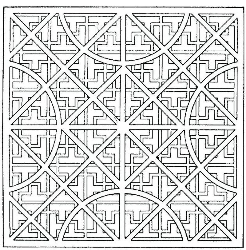 Coloring Pages For Mom Geometric free