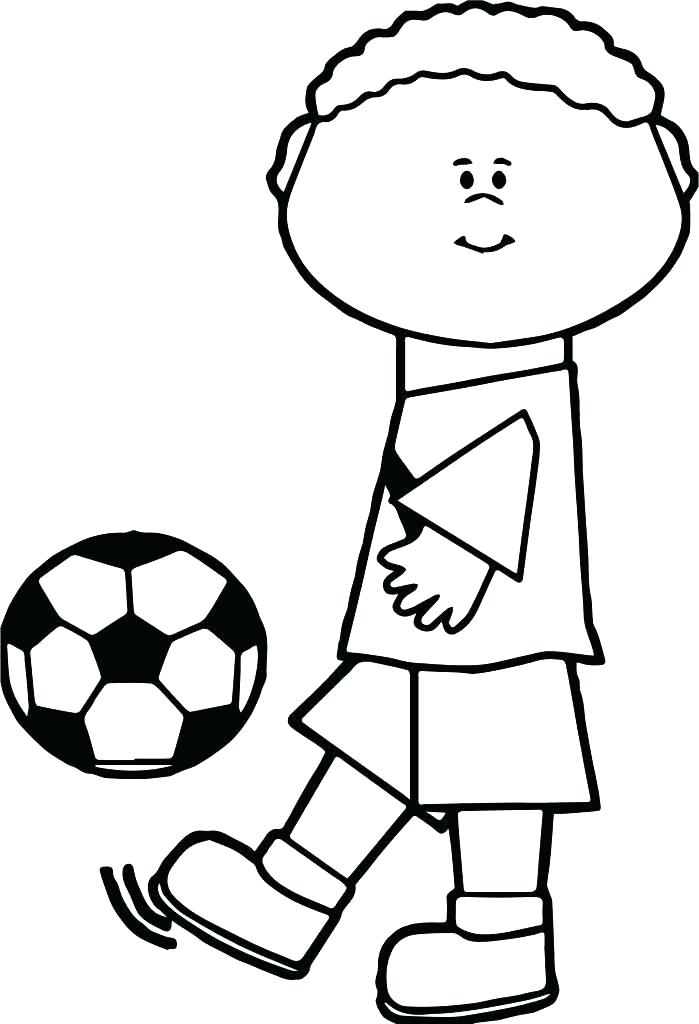 Coloring Pages For Soccer