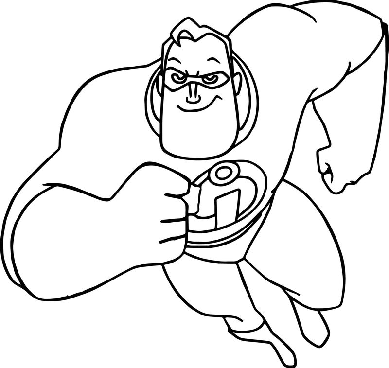 Coloring Pages Incredibles 2