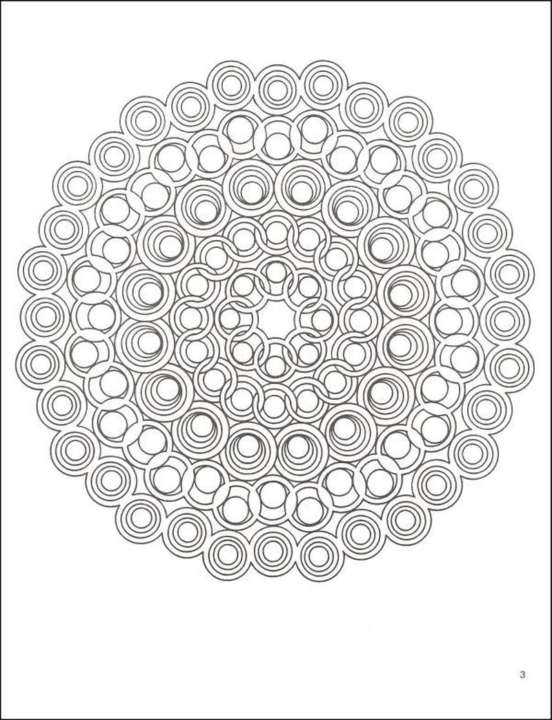 Coloring Pages Of Geometric Shapes free