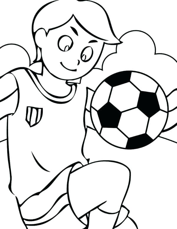 Coloring Pages Of Soccer