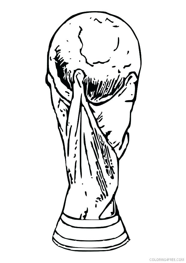 Coloring Pages Soccer Player