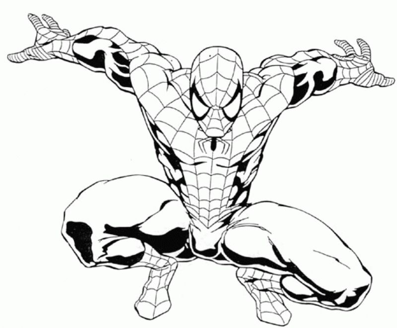 Coloring Pages Spiderman And Batman - Printable Coloring ...