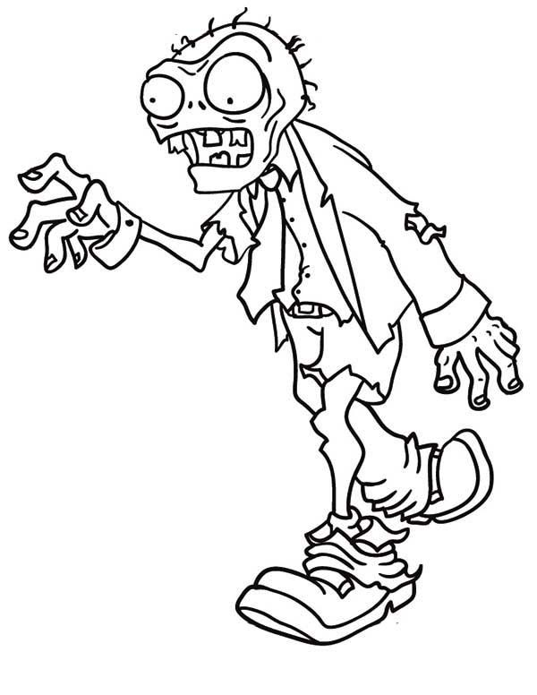 Coloring Pages Zombie free