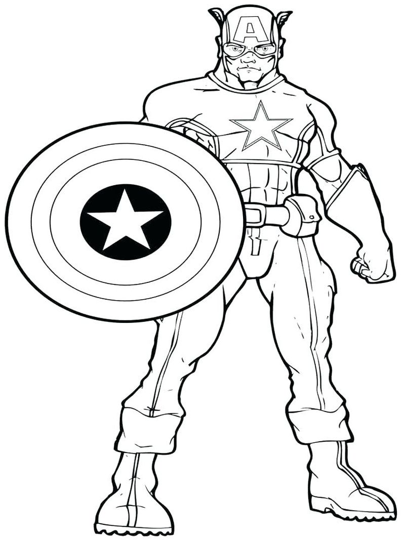 Cool Coloring Pages Justice League Wonder Woman