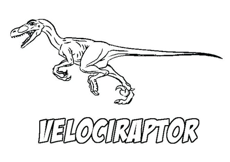 Dinosaur Coloring Pages For Jurassic World