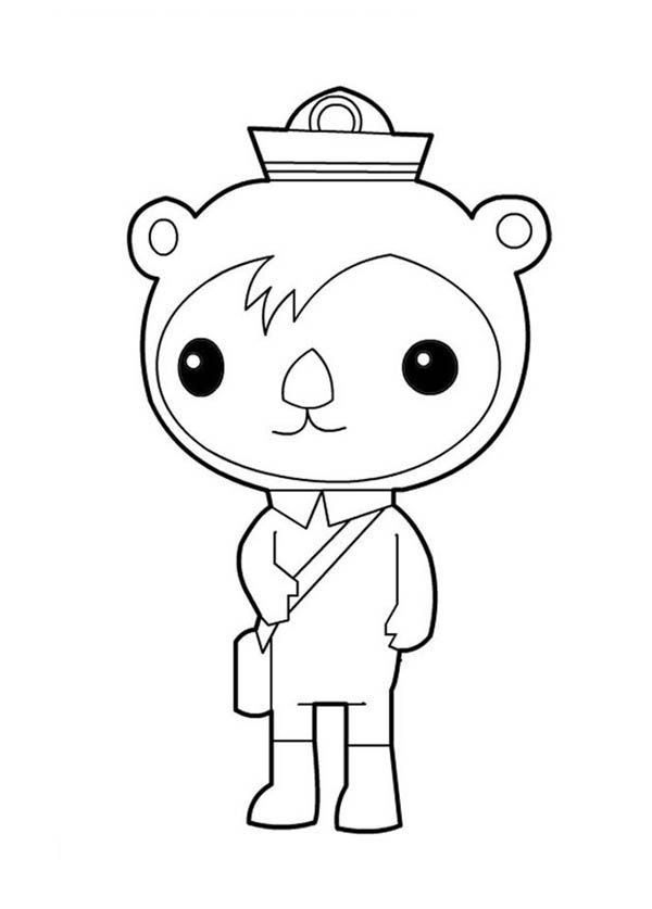 Disney Junior Coloring Pages Octonauts free