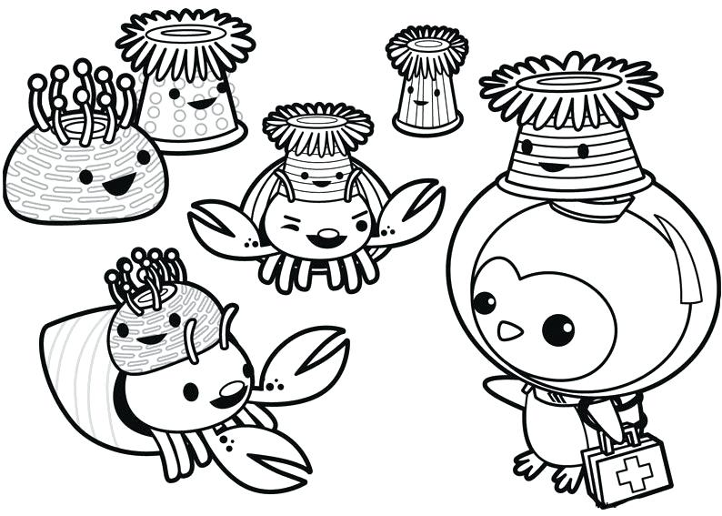 Disney Junior Octonauts Coloring Pages free