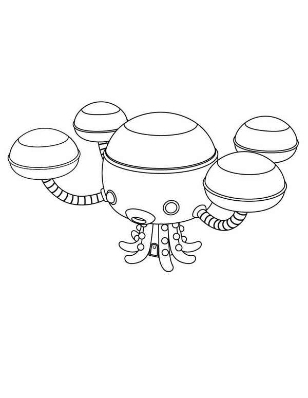 Disney Octonauts Coloring Pages