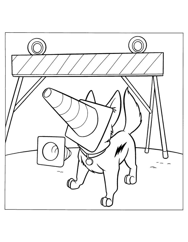 Dog Coloring Pages Printable Print