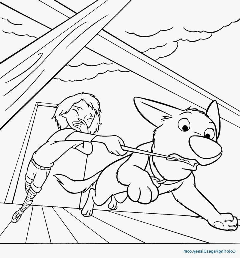 Dog Colouring Pages Free