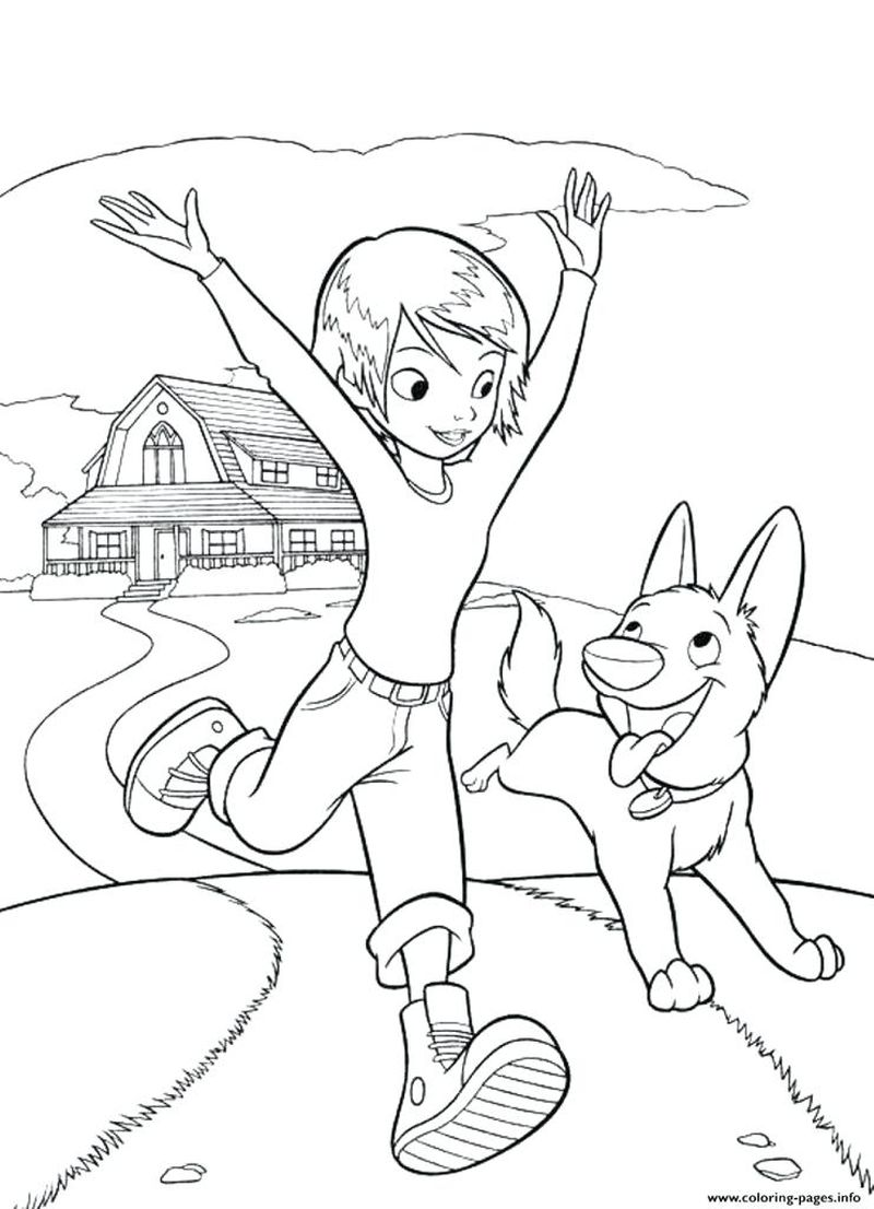 Dog Printable Coloring Pages Free
