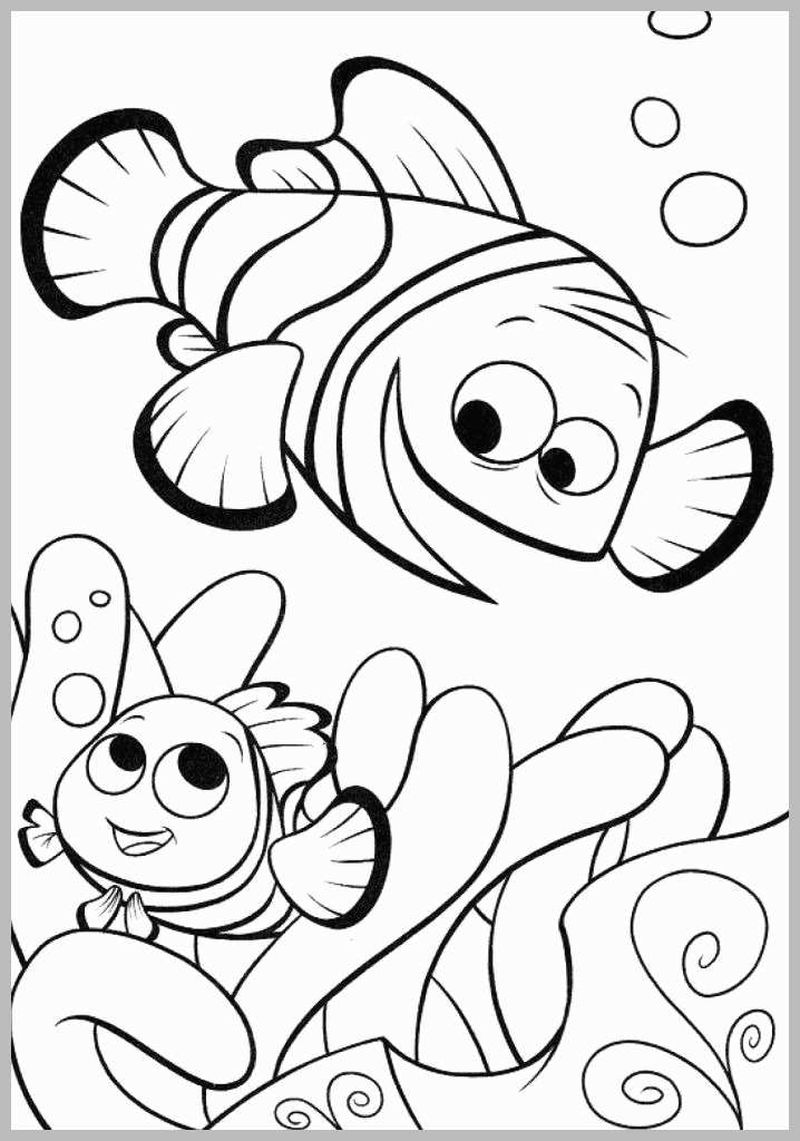 Finding Dory Coloring Pages For Kids free
