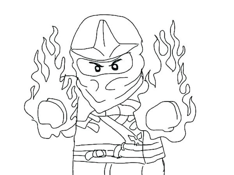 Fortnite Ninja Coloring Pages