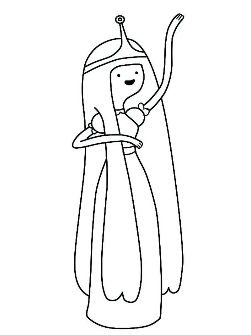 Free Adventure Time Coloring Pages Printable