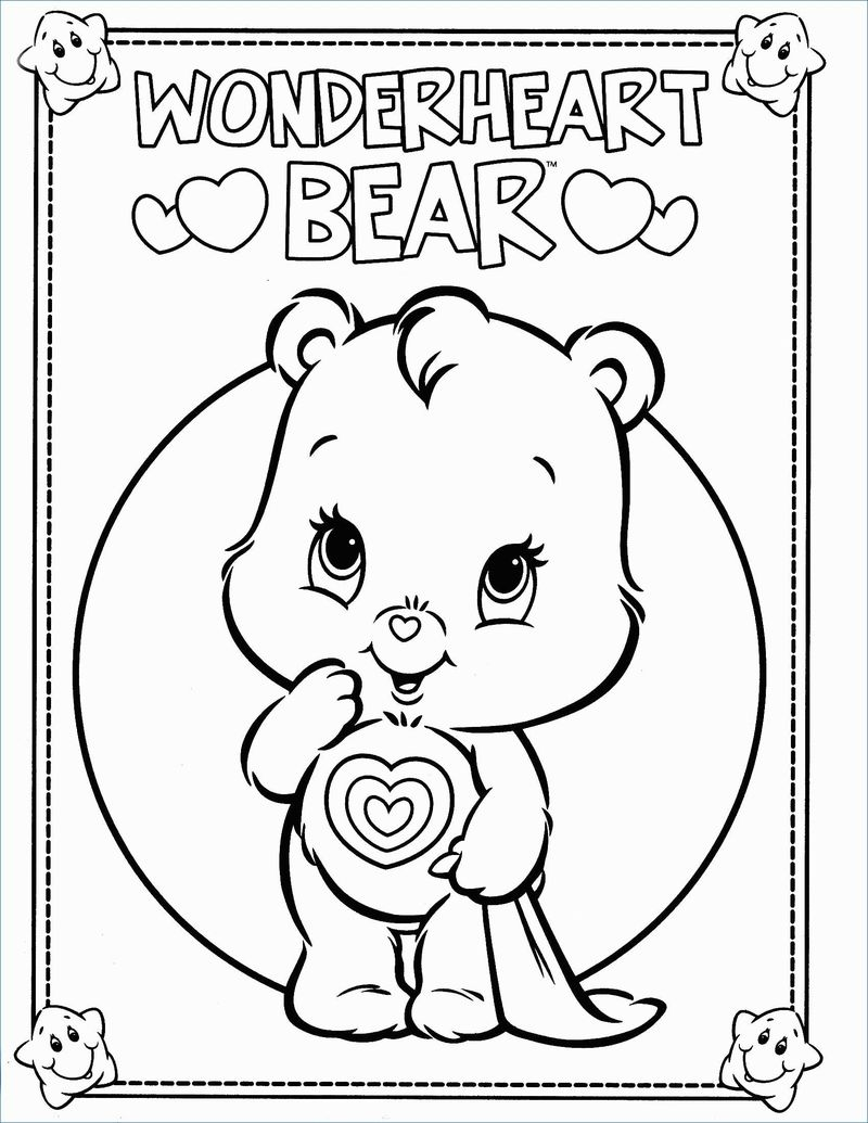 Free Care Bear Coloring Pages To Print