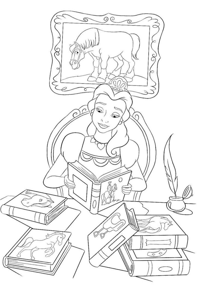Free Coloring Pages Books