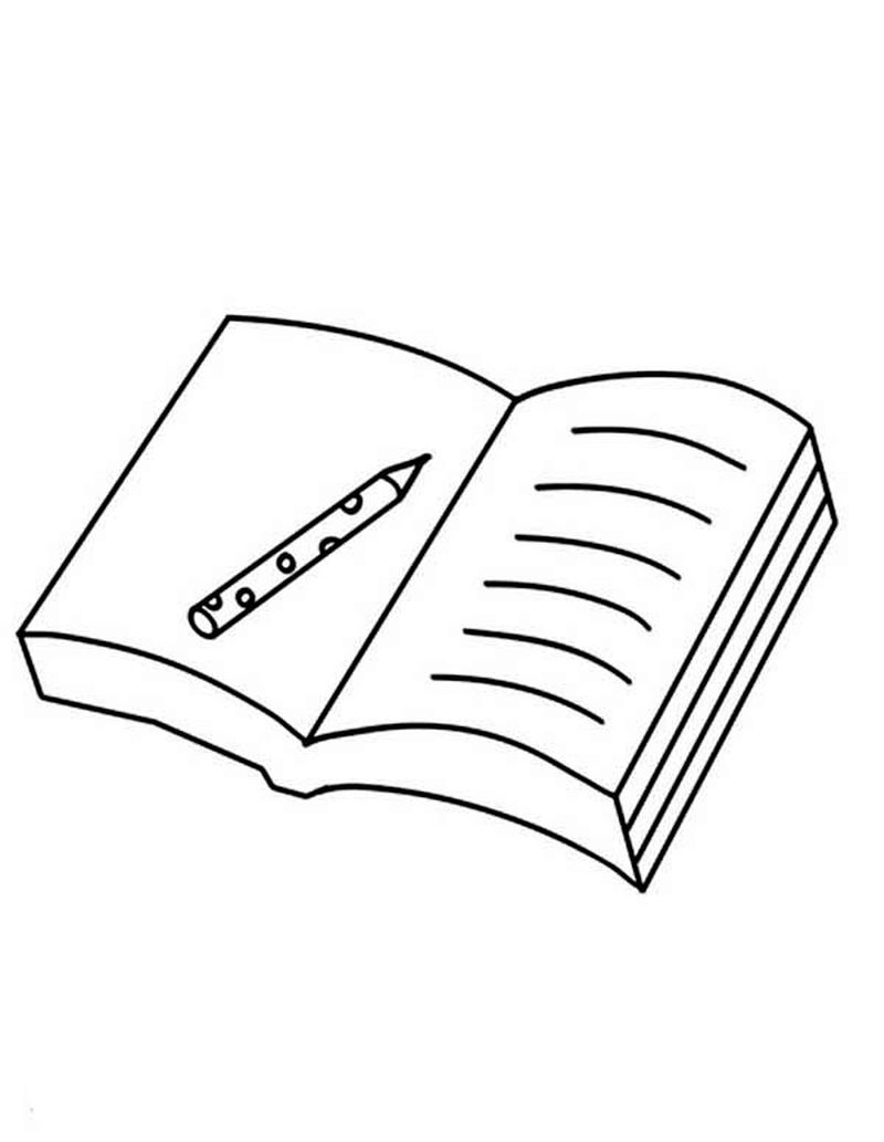 Free Coloring Pages Of Books