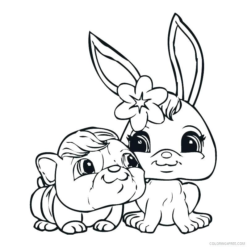 Free Littlest Pet Shop Coloring Pages For Kids free