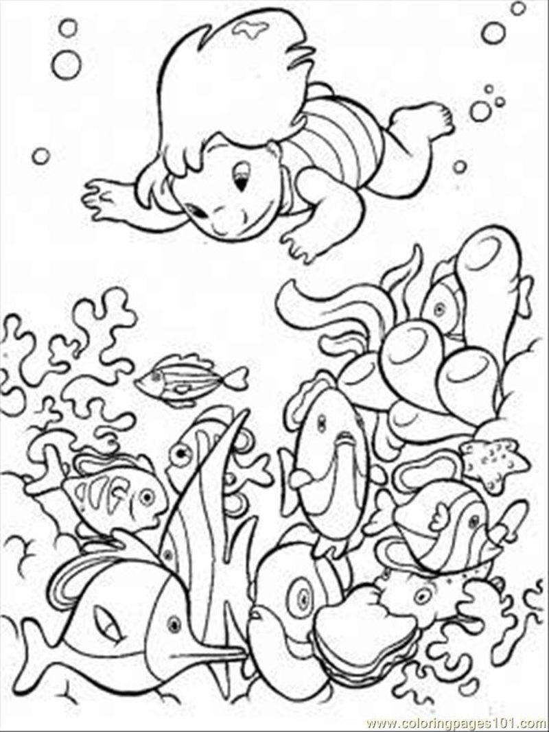 Free Ocean Animals Coloring Pages