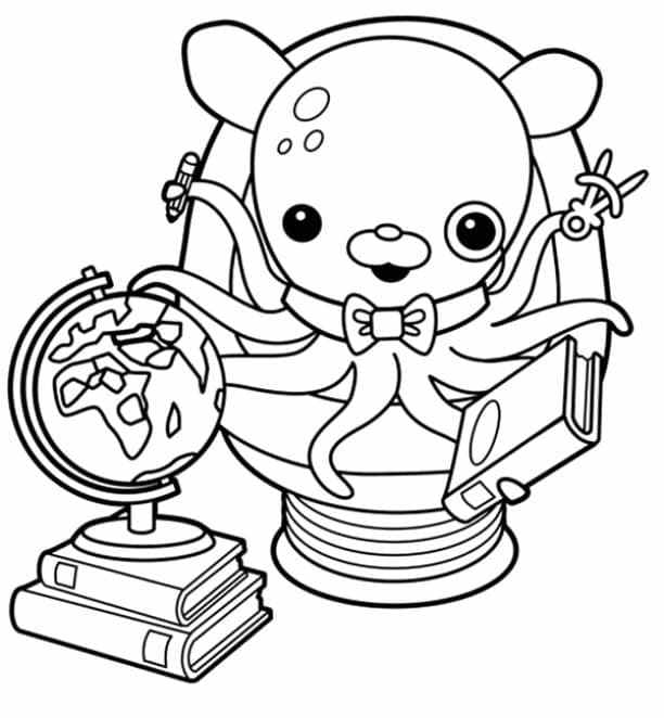 Free Octonauts Coloring Pages
