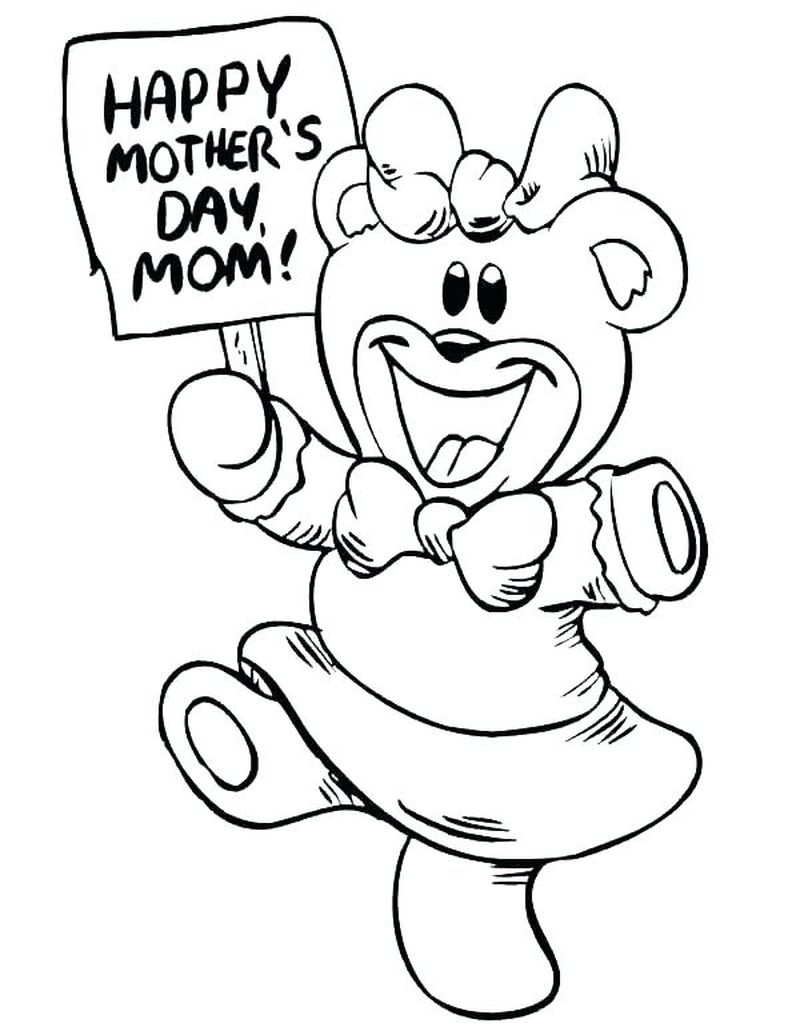Free Online Care Bear Coloring Pages