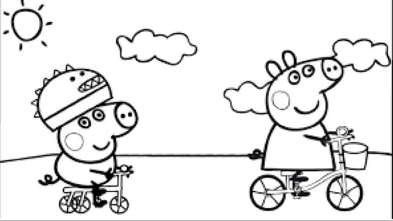 Free Peppa Pig Coloring Pages