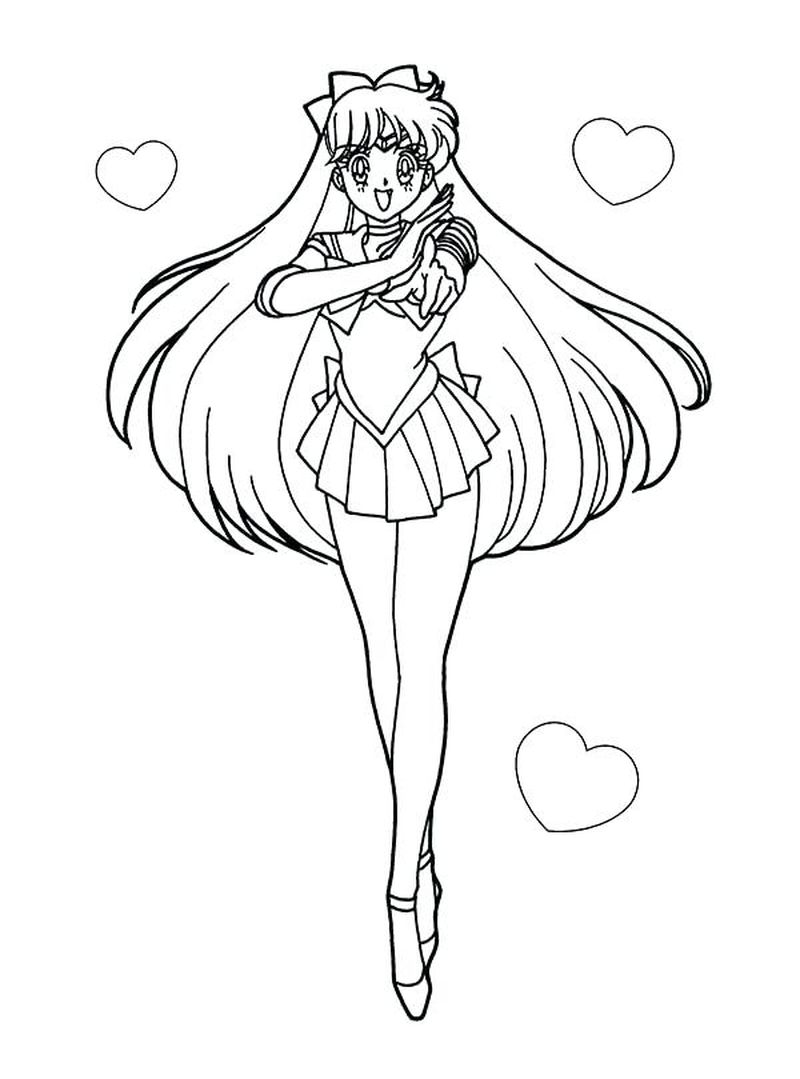 Free Sailor Moon Coloring Pages free