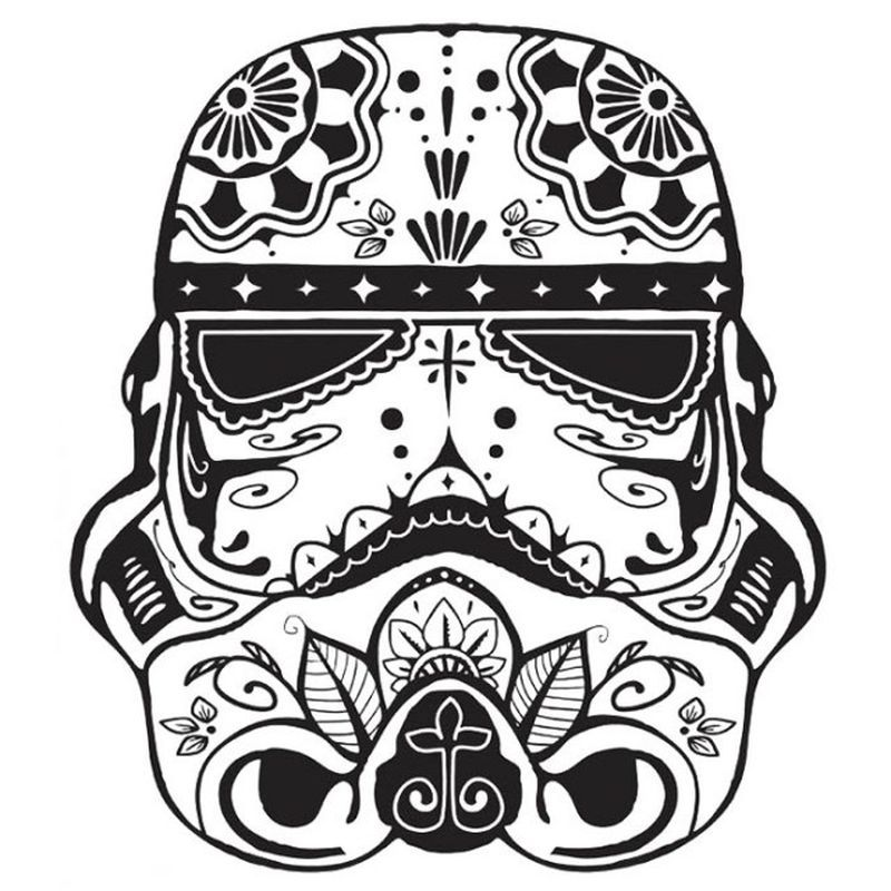 Free Skull Coloring Pages For Adults