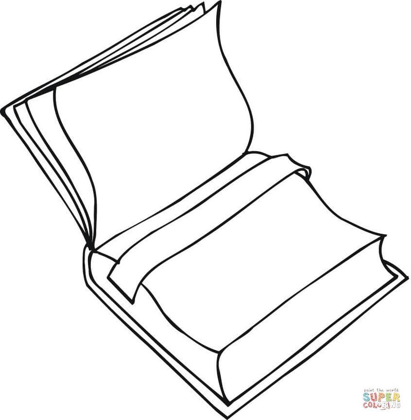 Froggy Books Coloring Pages