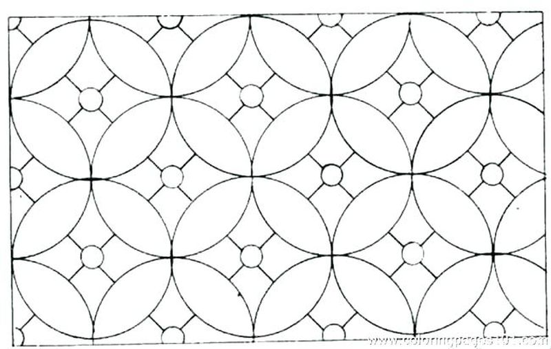 Geometric Designs Coloring Pages