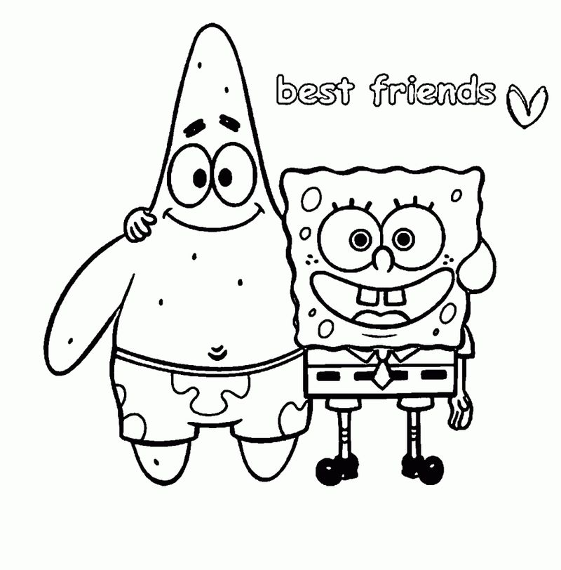 Girl Best Friend Coloring Pages pdf
